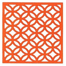 POCHOIR PLASTIQUE 20*20cm : motif fantaisie (68)