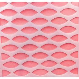 POCHOIR PLASTIQUE 13*13cm : motif fantaisie (69)