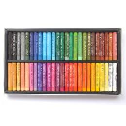 offret de 50 pastels fines 48 couleurs à l'huile Gallery artiste Mungyo