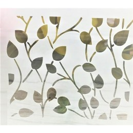 POCHOIR PLASTIQUE 13*13cm : feuilles (06)
