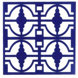 POCHOIR PLASTIQUE 20*20cm : motif fantaisie (90)