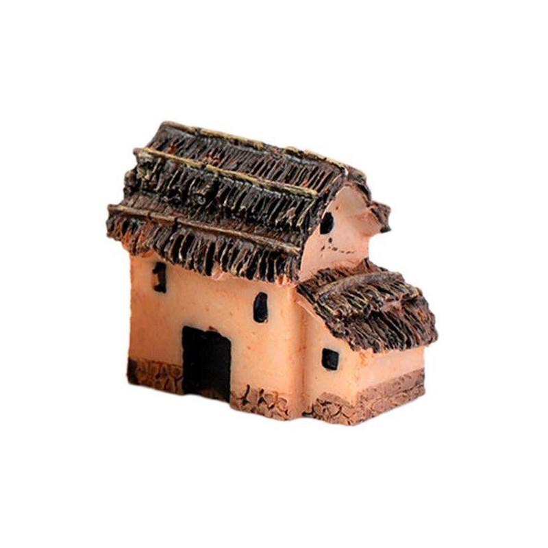 MINIATURE EN RESINE : maison campagne longueur 3cm (n°006)