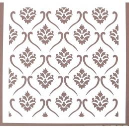 POCHOIR PLASTIQUE 20*20cm : motif antique (44)