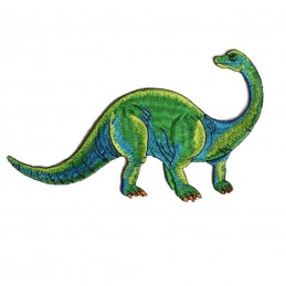 APPLIQUE TISSU THERMOCOLLANT : dinosaure 10*6cm (09)