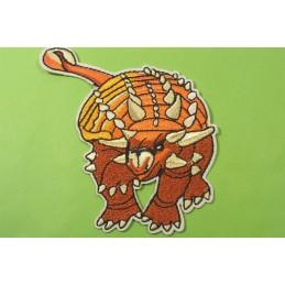 APPLIQUE TISSU THERMOCOLLANT : dinosaure 9*8cm (04)