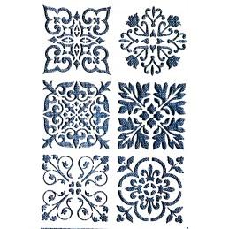 POCHOIR PLASTIQUE 26*18cm : motif antique (47)