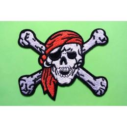 APPLIQUE THERMOCOLLANT : pirate 10*8cm (19)