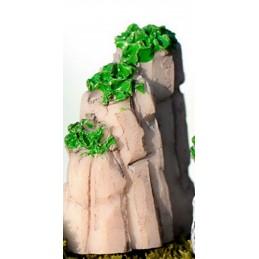 MINIATURE EN  RESINE : rocher 2*1.5cm  hauteur 3cm (01)