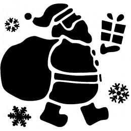 POCHOIR PLASTIQUE 13*13cm : Noel (05)