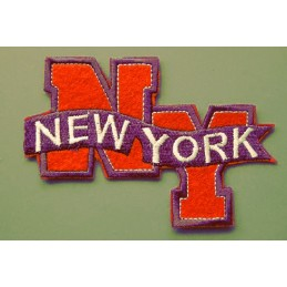 APPLIQUE THERMOCOLLANT : New York 115 x75mm