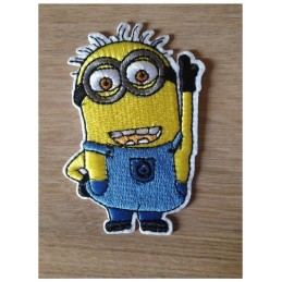 APPLIQUE THERMOCOLLANT : Minion Cartoon Moi Moche et Méchant