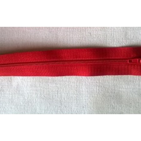 FERMETURE ECLAIR 15CM : rouge non séparable