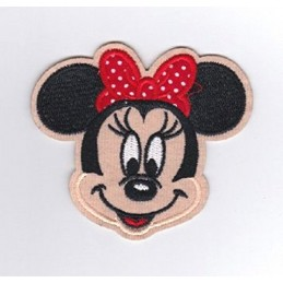 APPLIQUE THERMOCOLLANT : Minnie 90 x80mm