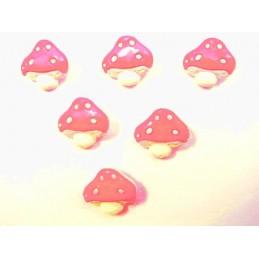 LOT 6 BOUTONS : champignon...