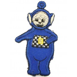 APPLIQUE THERMOCOLLANT : Télétubbies bleu