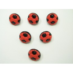 LOT 6 BOUTONS : ballon foot...