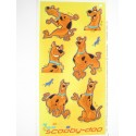 MINIS STICKERS SUR FEUILLE 7 x15CM : Scoobydoo (n°3)
