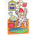 MINIS STICKERS SUR FEUILLE 5 x17CM : Paddington (n°3)