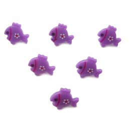 LOT 6 BOUTONS : poisson...