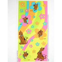 MINIS STICKERS SUR FEUILLE 7 x15CM  : Scoobydoo (n°1)