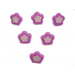 LOT 6 BOUTONS : fleur...