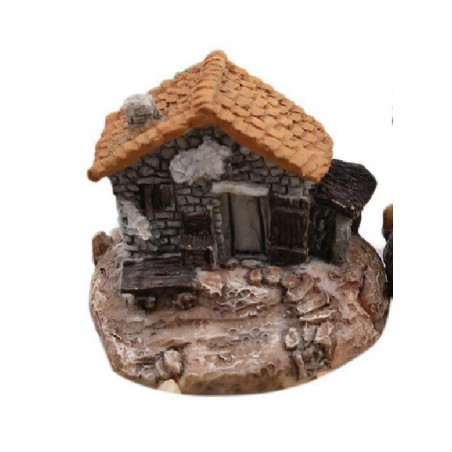 MINIATURE EN RESINE : maison (n°020)