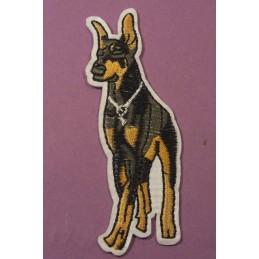 APPLIQUE TISSU THERMOCOLLANT : chien et chat 70*55mm
