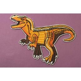 APPLIQUE TISSU THERMOCOLLANT : dinosaure 100*80mm