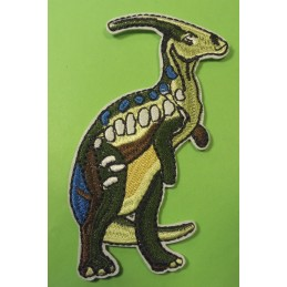 APPLIQUE TISSU THERMOCOLLANT : dinosaure 100*55mm