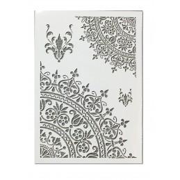 POCHOIR EN PLASTIQUE MYLAR  Format A4 (21*29.7cm)  Motifs  d'angle de type oriental