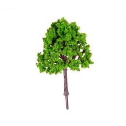 MINIATURE EN SYNTHETIQUE : arbre vert hauteur 5cm