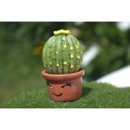 MINIATURE EN RESINE : cactus hauteur 3cm (12)