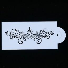 POCHOIR PLASTIQUE 20*10cm : motif antique (10)