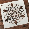 POCHOIR PLASTIQUE 16*16cm : motif antique (12)