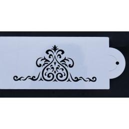 POCHOIR PLASTIQUE 21*10cm : motif antique (13)