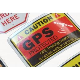 LOT DE 45 stickers en quadrichromie thême Attention Danger