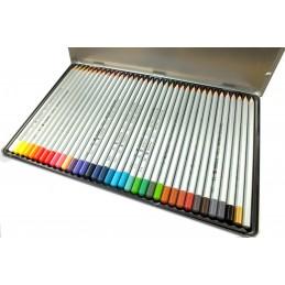 Boites de 36  crayons bois  couleur à l'huile  Marco Raffiné fine Art