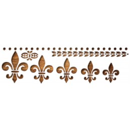 POCHOIR EN PLASTIQUE MYLAR Format A4 (21 * 29,7 cm) : Symboles et éléments de partition