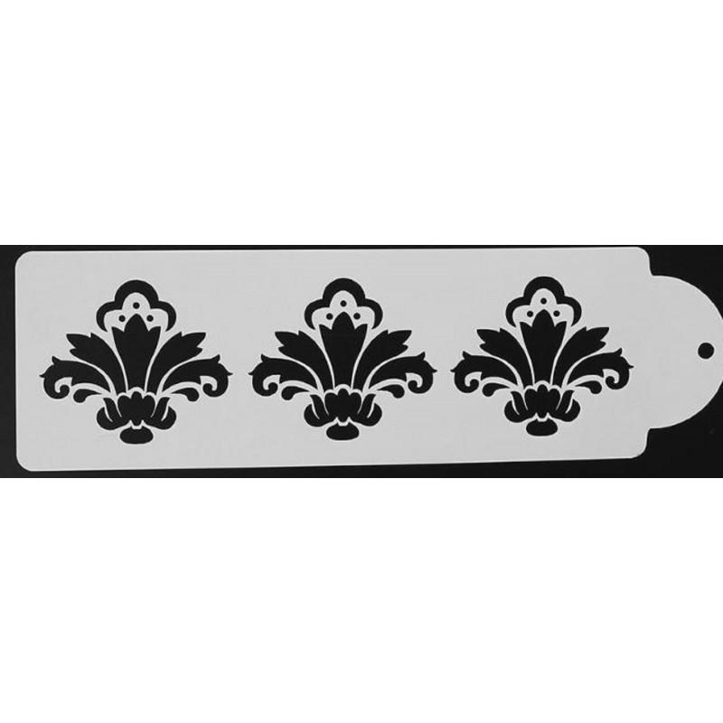 POCHOIR PLASTIQUE 29*10cm : bordure antique (13)