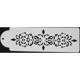 POCHOIR PLASTIQUE 29*10cm : bordure antique (14)