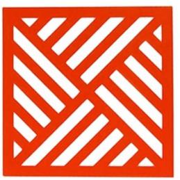POCHOIR PLASTIQUE 20*20cm : motif fantaisie (53)
