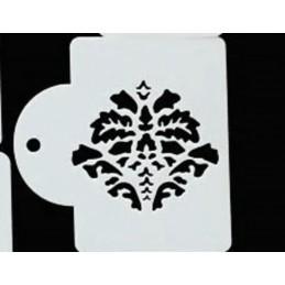POCHOIR PLASTIQUE 10*7cm : motif antique (B04)