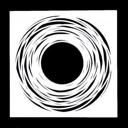 POCHOIR PLASTIQUE 13*13cm : motif fantaisie (63)