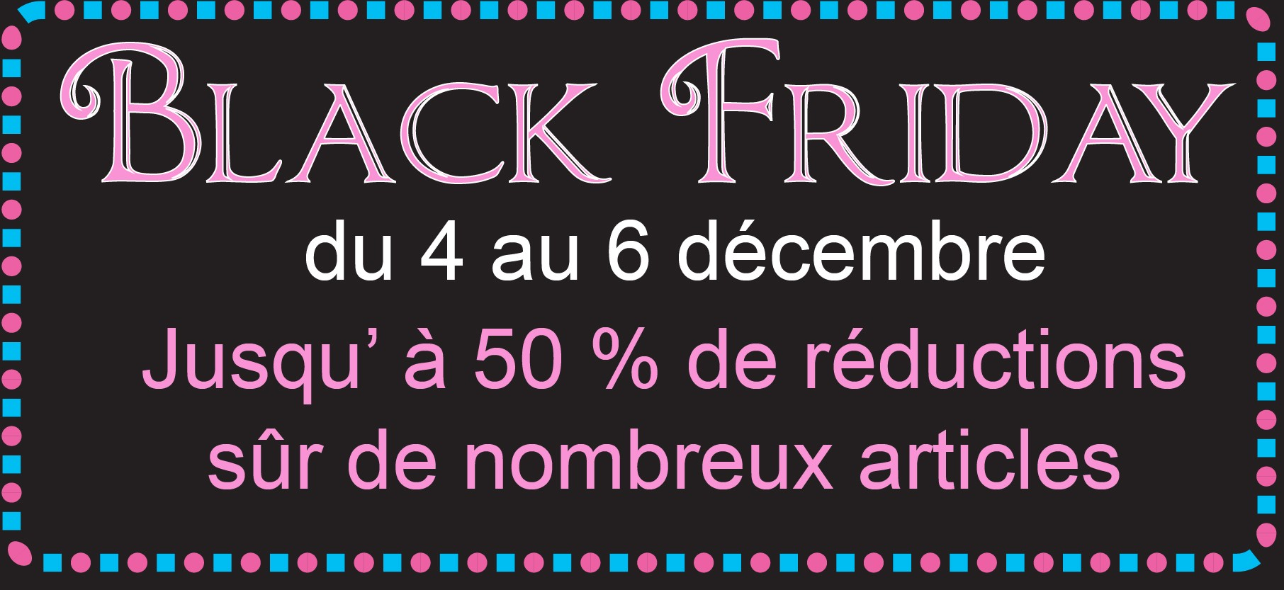 Black friday promotions